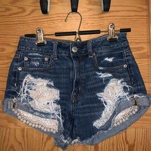 COPY - American eagle festival shorts